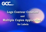 Logo Contour Creation and Multiple Copies Applications for Labels