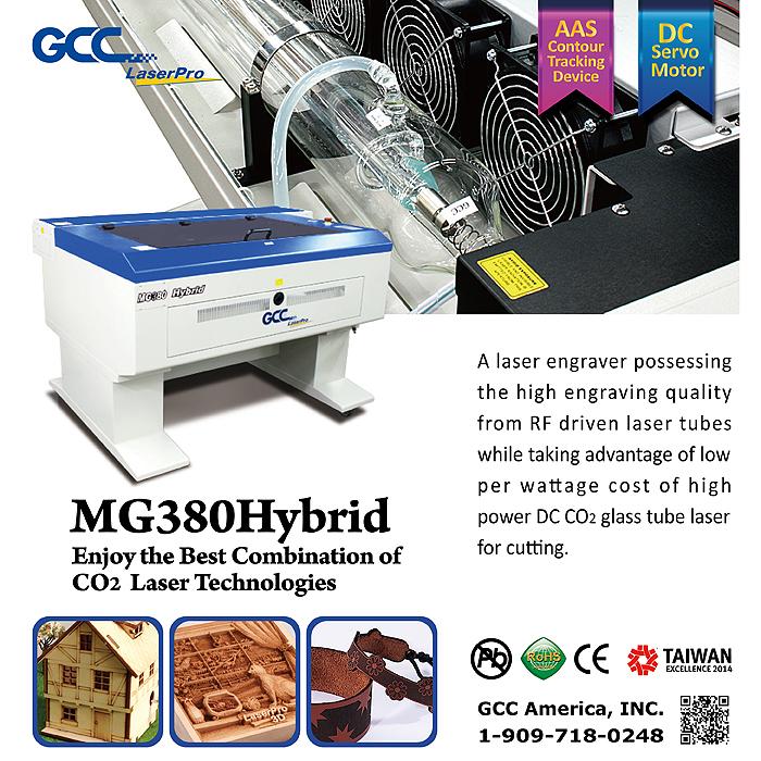 MG380Hybrid_Elite_Products Laser Engraving, Vinyl Cutter ,UV