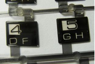 Keypad Marking