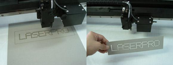 Use Laser engraving machine to engrave an exclusive Rhinestone Pattern