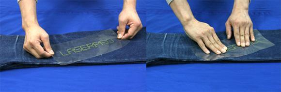 Rhinestone Application using Laser engraver step by step