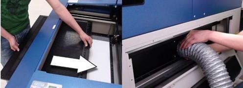 Laser Cutting Film step by step