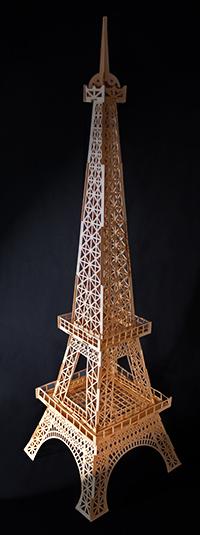 EIFFEL TOWER BY GCC SCRAPBOOK CUTTER